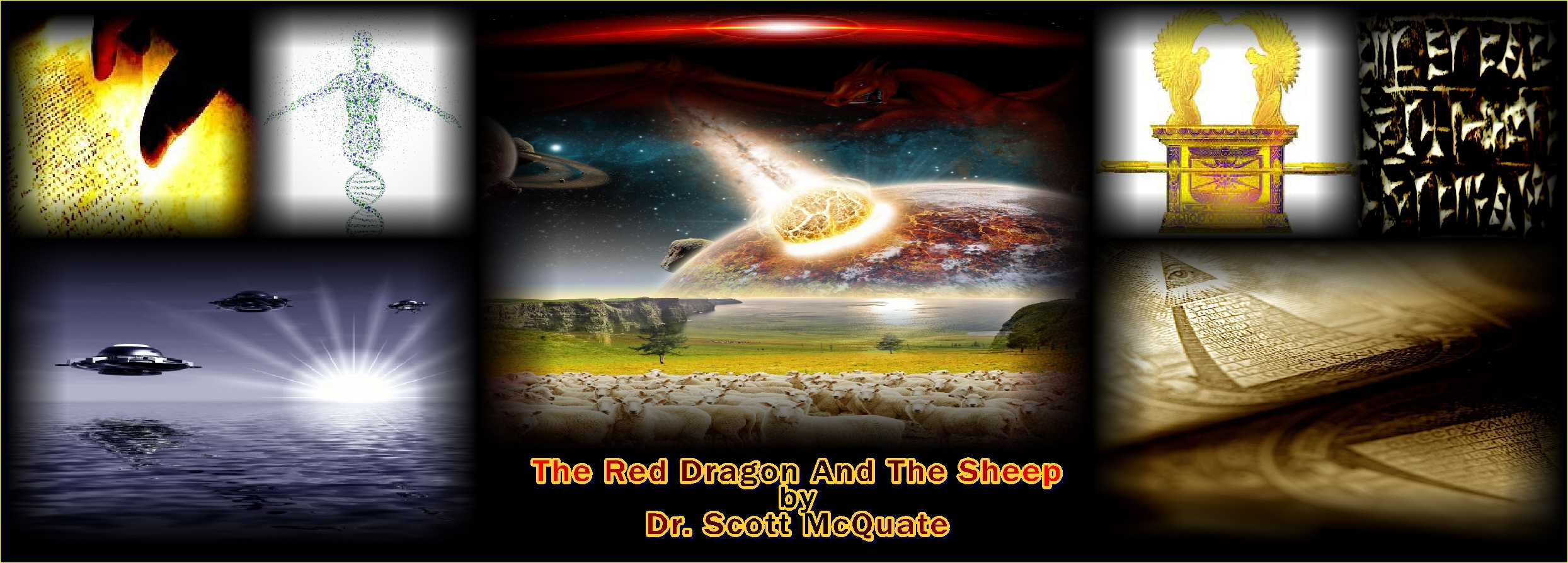 The Red Dragon And The Sheep By Dr. Scott McQuate